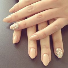 Cute evening nails