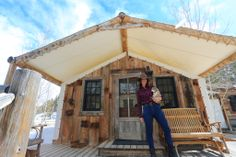 "On the Blog : Glamping Review ""3rd Day at TheRanchAtRockCreek "" by @My Life's A Trip @Matt Valk Chuah Ranch at Rock Creek  Travel TravelBlog Vacation nature bucketlistdestination bestvacations Montana TravelUSA"