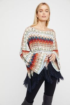 Shop our Nadia's Poncho at FreePeople.com. Share style pics with FP Me, and read & post reviews. Free shipping worldwide - see site for details.