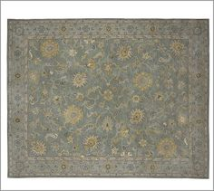 Maren Persian-Style Rug #potterybarn I saw this and thought of Mike it is bigger however twice the $
