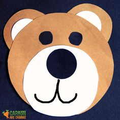 carrotsareorang: Bear Craft  use with goldilocks and three bears?
