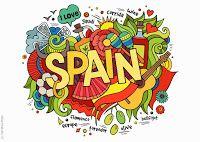 Spain Word Cloud Travel Label Car Bumper Sticker Decal x Fun In Spanish, How To Speak Spanish, Spanish Party, Wall Stickers Wallpaper, Wall Decals, Word Doodles, Afrique Art, Hispanic Culture, Cultura General