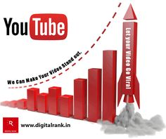Are you seeking more visibility for your #YouTube videos? Let your Video Go Viral We can make your video stand out. www.digitalrank.in