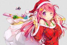 Christmas Anime Drawing 352 Best Christmas Anime Images On