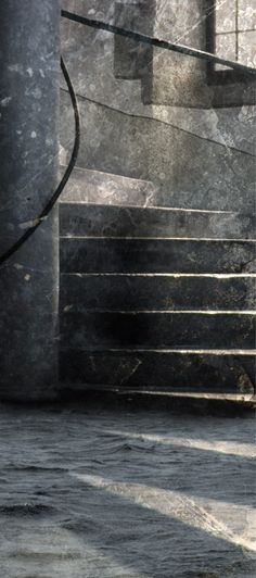 Päivi Hintsanen: Staircase of the Eastern Tower, 2012