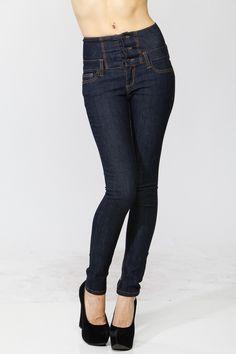 High Waist Denim Jeans @ Cicihot Pants Online Store: sexy pants,sexy club wear,women's leather pants, hot pants,tight pants,sweat pants,white pants,black pants,baggy pants