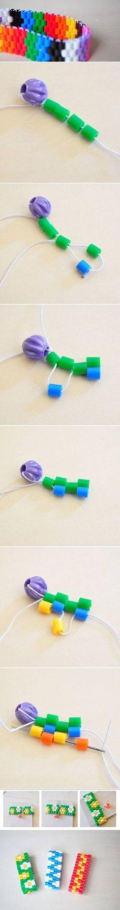 DIY Bracelet diy crafts craft ideas easy crafts diy ideas crafty sewing easy diy diy jewelry diy bracelet craft bracelet jewelry diy diy sewing craft sewing