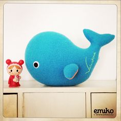 Personalized Whale for Valentina