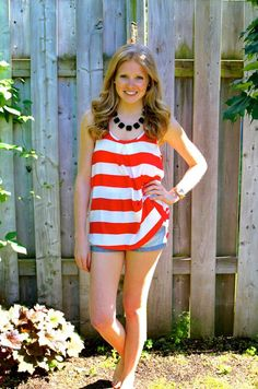 Still need a Canada Day outfit? Look no further than this tank! Big Swimming Pools, Canada Day, Vancouver Island, Outfit Of The Day, Adventure, Classic, How To Wear, Outfits, Clothes