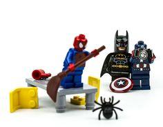 Simpáticas fotografías Lego de Christian Cantrell