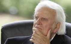 """""""Deus pode usar tragédias para voltar nossos corações a Ele"""", diz Billy Graham"""