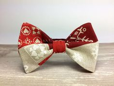 Bow Tie by BartekDesign: pre tied red christmas by BartekDesign