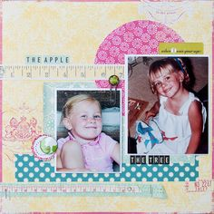 The Apple - The Tree by Noel Culbertson- Scrapbook.com for TheScrapReview.com