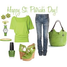 St. Patrick's Day Outfit, created by bellejones97