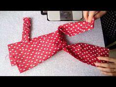 How to Make Twist Turban Headband Twisted Headband Sewing Pattern ฟร Turban Headband Tutorial, Twist Headband, Diy Headband, Headband Pattern, Fabric Headbands, Turban Headbands, Baby Headbands, Sewing Hacks, Sewing Tutorials