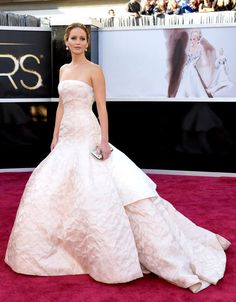 Jennifer Lawrence in Dior Haute Couture, Oscars 2013