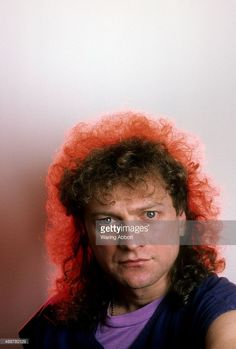 Portrait of American vocalist and front man, Lou Gramm of the British-American rock group Foreigner on January 1, 1987 in New York City.