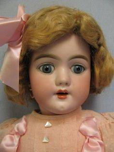 "20"" Antique Doll c1890 HEINRICH HANDWERCK #109"