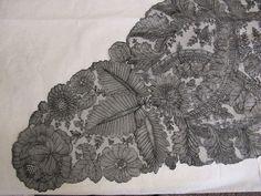 Chantilly Textile Patterns, Textiles, Chantilly Lace, Bobbin Lace, New Pins, Vintage Lace, Vintage Antiques, Envy, Needlework