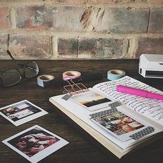 Journaling my Instagram account in my Traveler's Notebook Enjoy Summer, Journal Notebook, My Memory, Travelers Notebook, Instagram Accounts, Things To Think About, Journaling, My Photos, Creativity