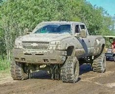 Mudding with lifted chevy truck - - Yahoo Image Search Results Lifted Chevy Trucks, Gm Trucks, Chevy Pickups, Chevrolet Trucks, Diesel Trucks, Cool Trucks, 1957 Chevrolet, Chevrolet Impala, Muddy Trucks