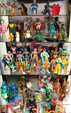 Vintage Japanese toys @ Super7 Store