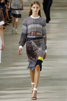 Preen by Thornton Bregazzi Spring 2013 Ready-to-Wear Fashion Show - Marine van Outryve