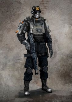 Wolfenstein The New Order Concept Art - Soldier Wolfenstein The New Order, Wolfenstein 2, Armor Concept, Concept Art, Overwatch, Character Concept, Character Art, Bazar Bizarre, German Soldier