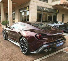 Awesome Ferrari 2017 2016 Aston Martin Vanquish Zagato Cars I love Ferrari 2017, Ferrari Car, Aston Martin Vanquish, F100, Automobile, Nissan Gt, Nissan 370z, Expensive Cars, Trucks