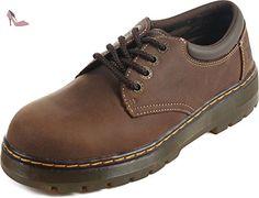 Dr. Martens Chaussure Bolt St Dentelle pour hommes, EUR: 46 EUR, Dark Brown Wyoming - Chaussures dr martens (*Partner-Link)
