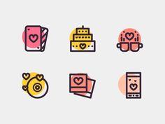 Love & Romance Icons