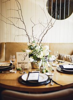 Dublin Elegance from Pretty As A Picture + The Bridal Lounge + Christina Brosnan Wedding Table, Our Wedding, Wedding Things, Centerpieces, Table Decorations, Garden S, Elegant Wedding, Style Me, Table Settings