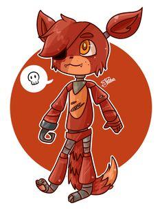 Chibi Foxy by chicapitufa.deviantart.com on @deviantART
