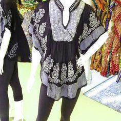 Veja nosso novo produto Bata Indiana batik  Luxo versátil veste do P ao  Plus! Se gostar, pode nos ajudar pinando-o em algum de seus painéis :)