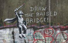 Banksy Bristol graffiti artist, 600 unique photos of Banksy stencil graffiti Banksy Graffiti, Arte Banksy, Street Art Banksy, Bansky, Graffiti Tattoo, Graffiti Artists, Banksy Paintings, Banksy Canvas Prints, Banksy Artwork