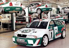 First Skoda Octavia WRC Auto Volkswagen, Volkswagen Group, Sport Cars, Race Cars, Simply Clever, Rallye Wrc, Subaru Cars, Rally Car, Amazing Cars