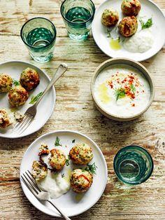 I Quit Sugar - Mediterranean Chicken Meatballs by The Mediterranean Diet Cookbook