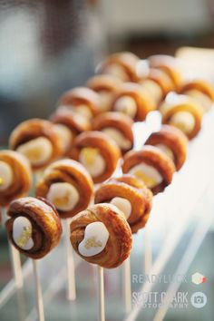"""First cake pops, bikkies on a stick and now pastries on a stick! """"Pastries on a stick - #Engage12 at @Mo_LasVegas"""""""