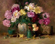 Il mondo di Mary Antony: Still life oil painting di Joe Anna Arnett