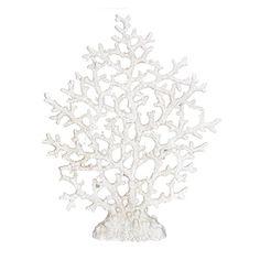 WELLAND White Tabletop Faux Coral Decoration, 14 inch WEL... https://www.amazon.com/dp/B016EYARN0/ref=cm_sw_r_pi_dp_x_5QZ6xbEBEGBMX