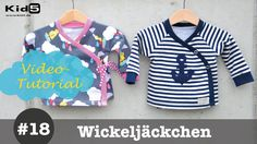 Wickeljäckchen für Babys selber nähen  -  DIY-Näh-Tutorial