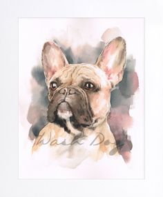 French Bulldog print of original watercolor painting, French Bulldog art, French Bulldog painting, French bulldog watercolor, For dog lovers by WashDogBkk on Etsy This item & The post This item is unavailable appeared first on Murtaza Mutts. Dog Canvas Painting, Dog Paintings, Watercolor Paintings, French Bulldog Drawing, French Bulldog Blue, French Bulldogs, Watercolor Animals, Dog Portraits, Animal Drawings