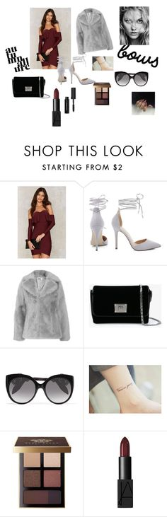 """Başlıksız #13"" by tinaair on Polyvore featuring moda, Jakke, Jimmy Choo, Alexander McQueen, Bobbi Brown Cosmetics ve NARS Cosmetics"