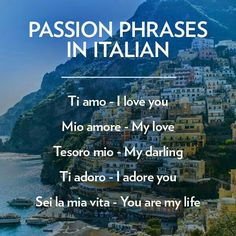 Passion phases...in Italian!