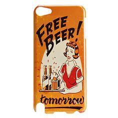 Bière+et+arrêt+du+Modèle+Fille+dur+pour+iTouch+5+–+EUR+€+2.87