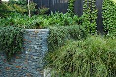 décoration de mur de jardin