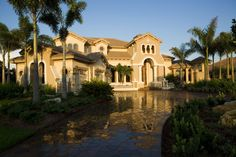 This Tuscan inspired estate built by Peregrine Homes won Best Floor Plan, Best Architectural Detail, Best Master Suite, and Best Overall in the Parade of Homes.  Visit this Sarasota custom home builder at www.peregrinecustomhomes.com