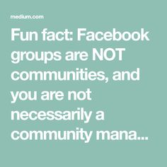 Fun fact: Facebook g