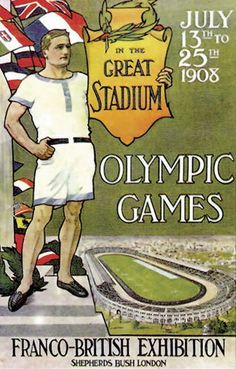 Designing a poster for the Olympic Games must be a daunting task