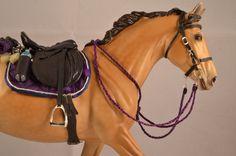 English road trip bridle, halter and lead, saddle , saddle pad, water bottle, sponge ect.